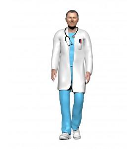 Médecin homme
