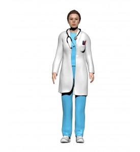Médecin femme