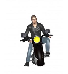 - Nouveau - Le motard
