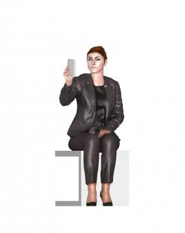 - Nouveau - Femme Selfie