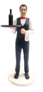 Figurine personnalisée serveur