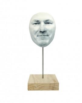 - NOUVEAU - Masque avec support bois